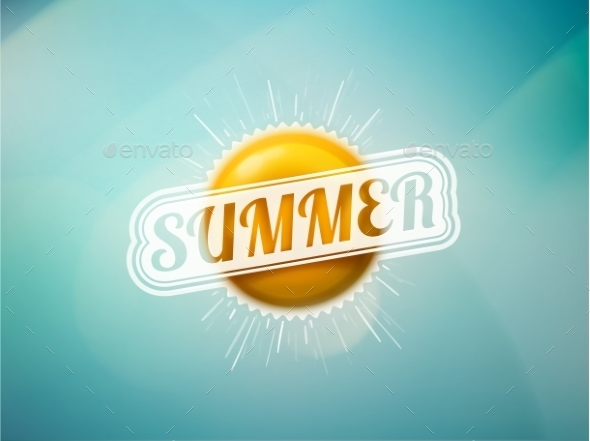 GraphicRiver Summer Sun 11269873