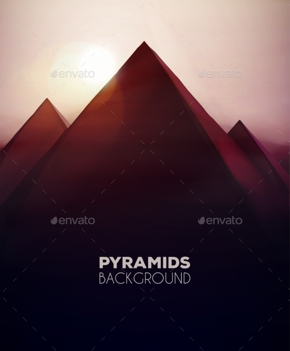 GraphicRiver Pyramids Background 11269882