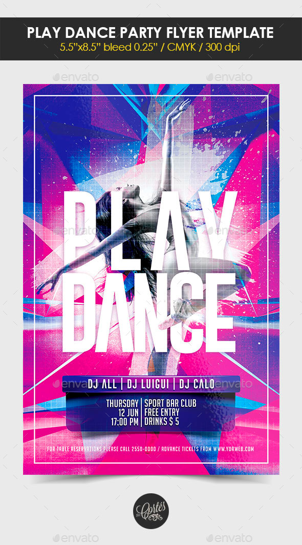 GraphicRiver Play Dance Party 11270223