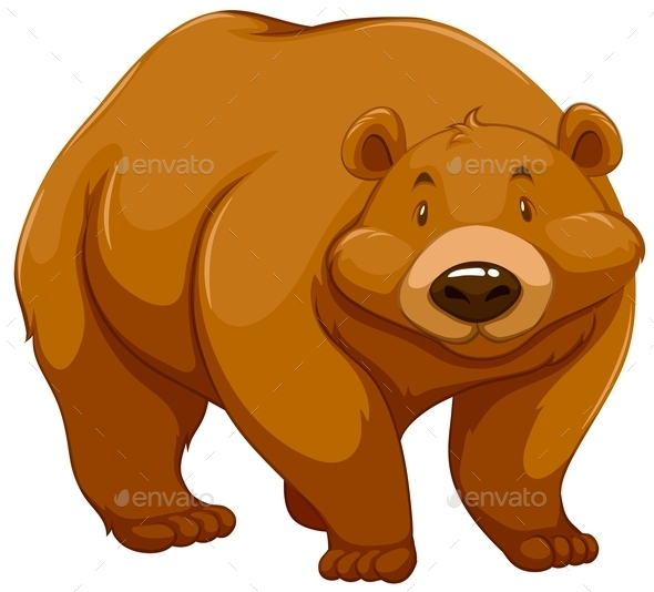 GraphicRiver Big Brown Bear 11270233