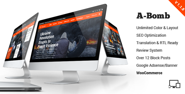 A Bomb | News & Blog & Magazine Theme