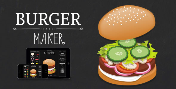 CodeCanyon Burger Maker HTML5 Game 11270308