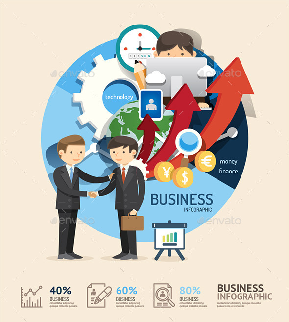 GraphicRiver Business Design Infographic Concept 11270706