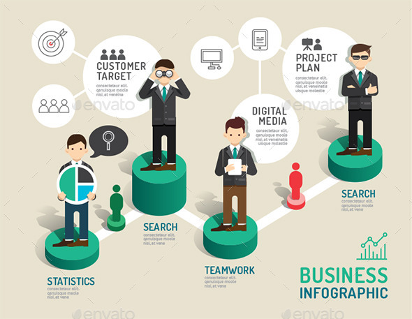 GraphicRiver Business Board Game Concept Infographic 11270721