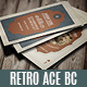 Retro Ace Business Card - GraphicRiver Item for Sale