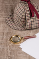 Sherlock Hat and magnifying glass - PhotoDune Item for Sale