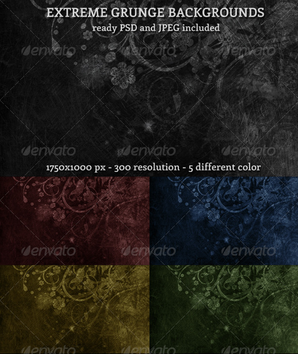 GraphicRiver Extreme Grunge Background 1129328
