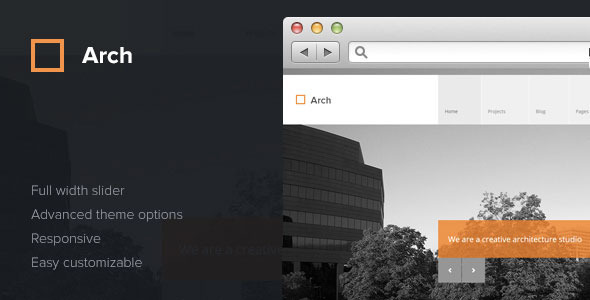 Arch - Responsive Architect WordPress Theme - Creative WordPress
