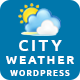 City Weather for WordPress - CodeCanyon Item for Sale
