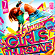 Flyer Glamour Girls Thursdays Konnekt - GraphicRiver Item for Sale