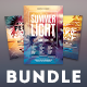 Summer Flyer Bundle Vol.08 - GraphicRiver Item for Sale