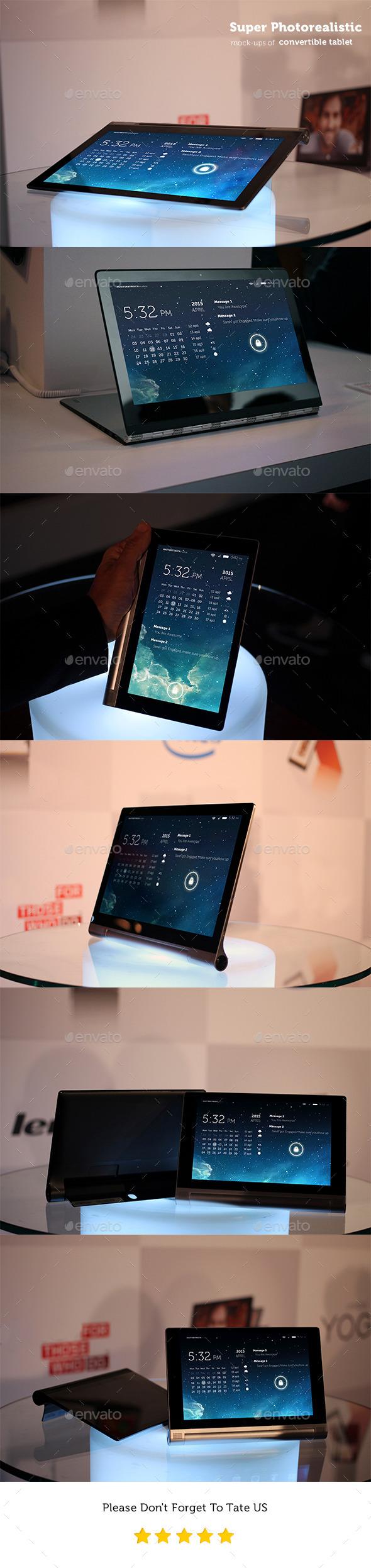 GraphicRiver Photorealistic Pad-Tablet Mockups 11272713