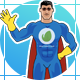 Superhero Poses For Explainer - VideoHive Item for Sale