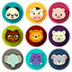 Animal Icons - GraphicRiver Item for Sale