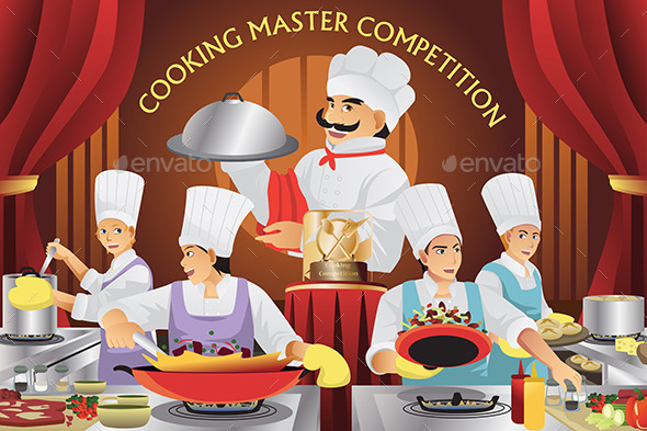 GraphicRiver Cooking Master Competition 11273526