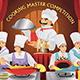 Cooking Master Competition - GraphicRiver Item for Sale