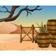 View of the Desert - GraphicRiver Item for Sale