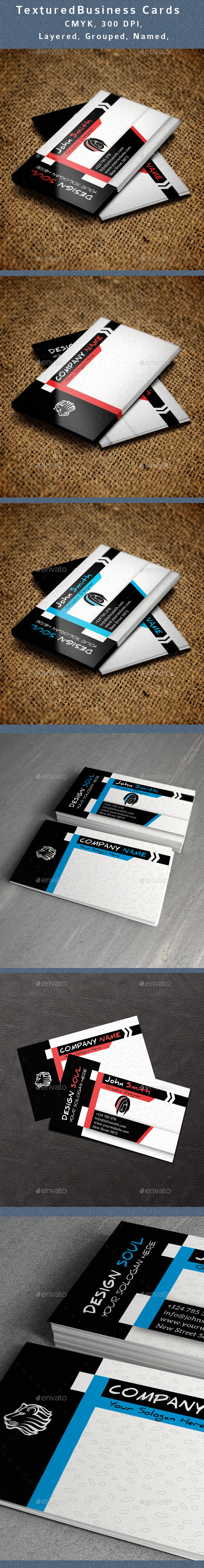 GraphicRiver Textured Business Card V3 11273841