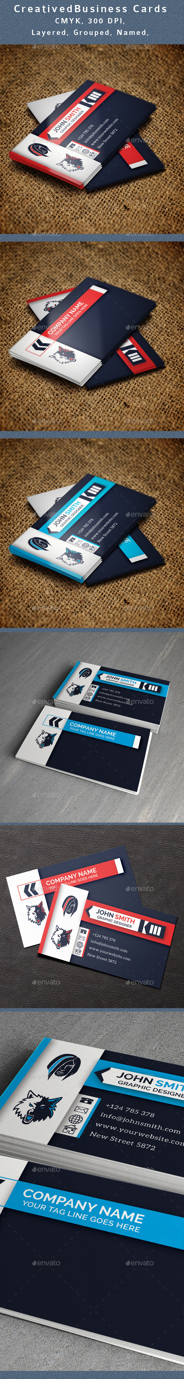 GraphicRiver Creative Business Card V3 11273940