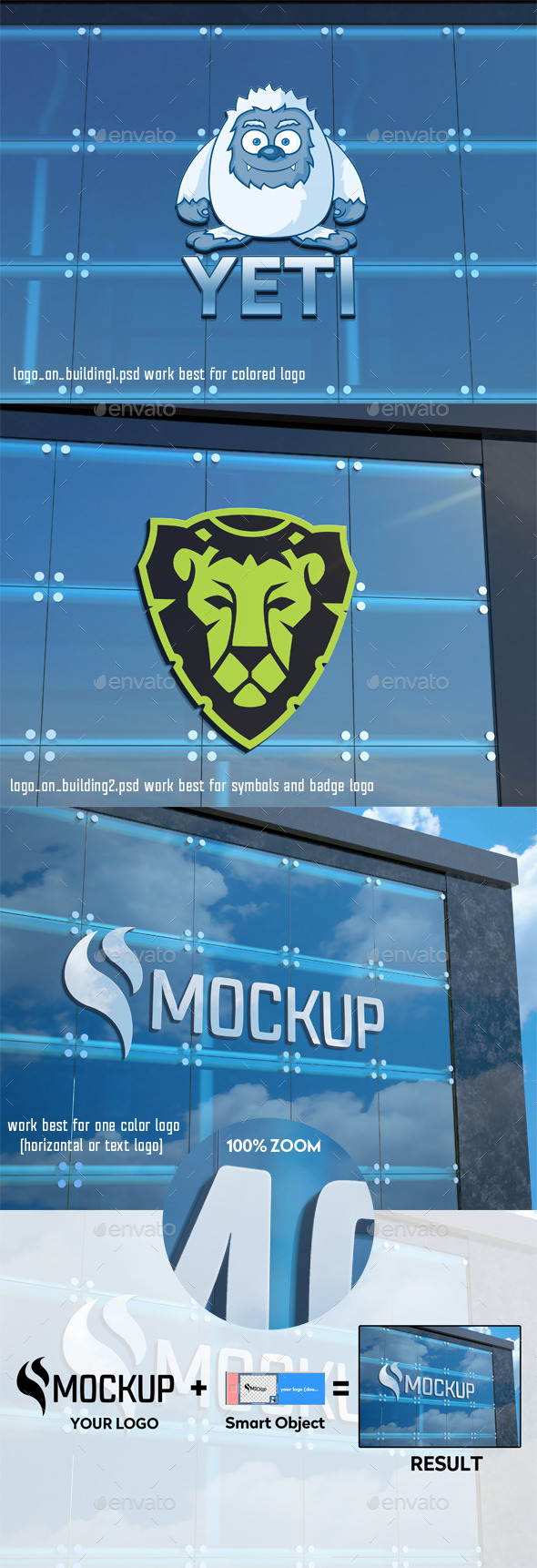 GraphicRiver Logo on Building Mockup 11274102