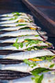 stuffed fish grilling on BBQ - PhotoDune Item for Sale
