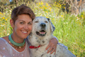 owner with mixed breed dog - PhotoDune Item for Sale