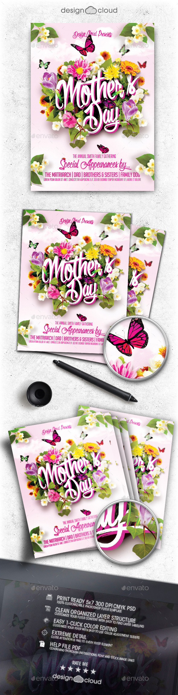 GraphicRiver Mother s Day Flyer Template 11274198