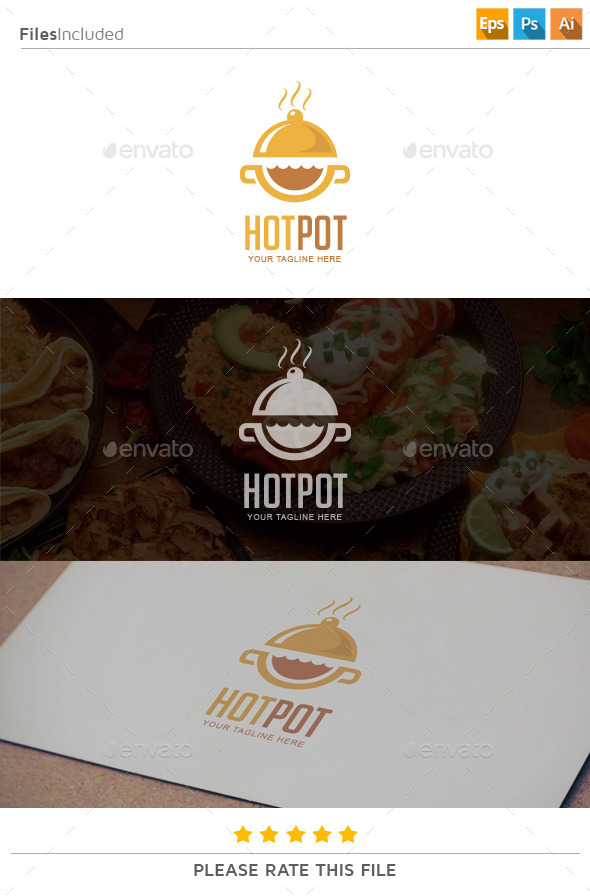 GraphicRiver Food Logo 11274202