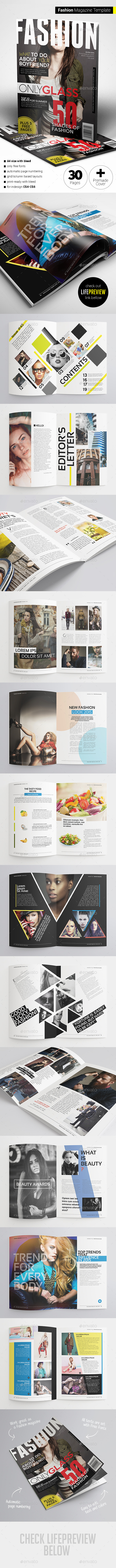 GraphicRiver Fashion Magazine 11274321