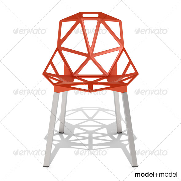 3DOcean Magis Chair One 139305