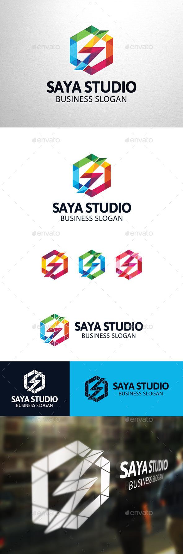 GraphicRiver Saya Studio Letter S Logo 11274900