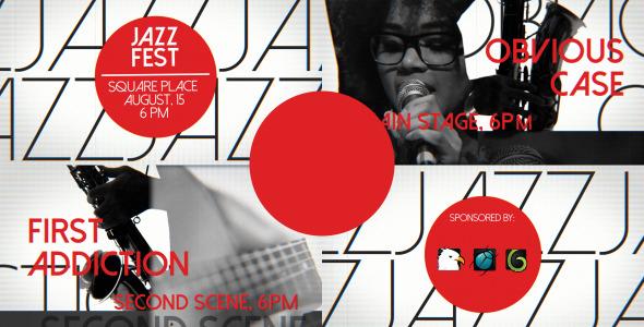 Jazz Promo Music Event