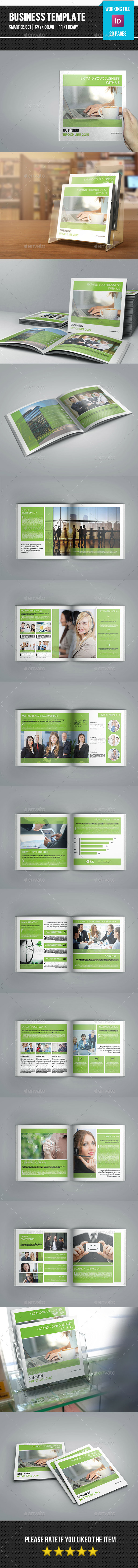 GraphicRiver Corporate Square Brochure-V19 11275783