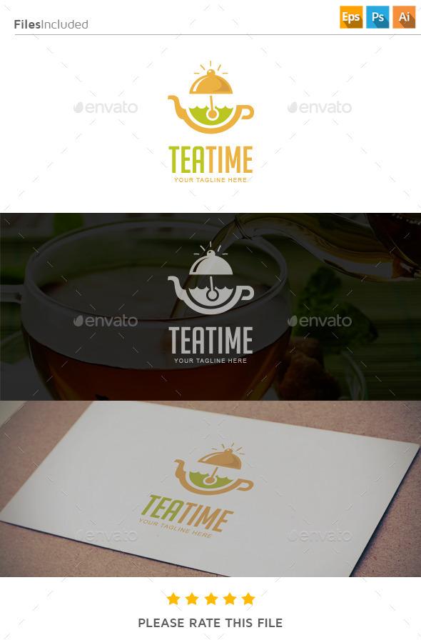 GraphicRiver Tea Time Logo 11275825