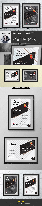 GraphicRiver Fashion Awards Certificates 11276199