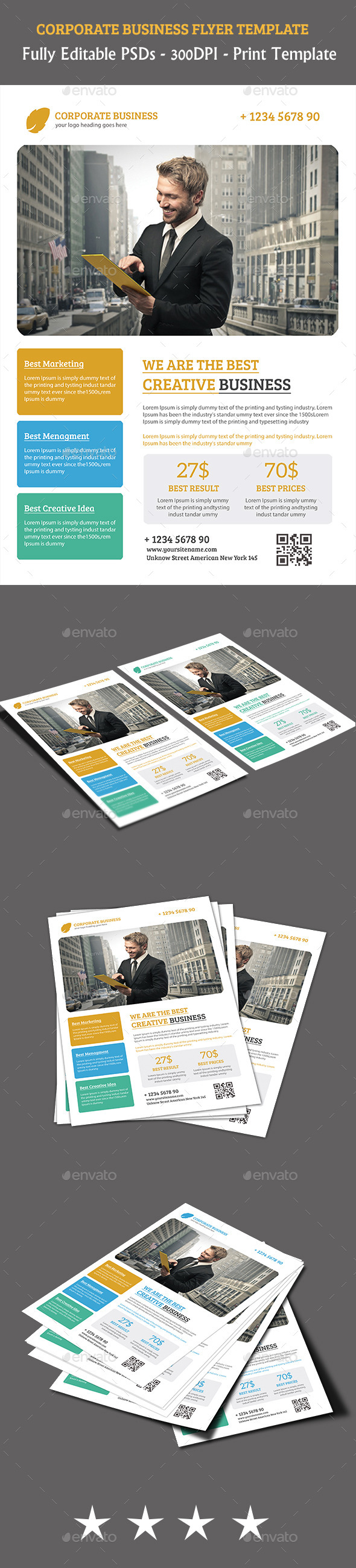 GraphicRiver Corporate Business Flyer 11276224