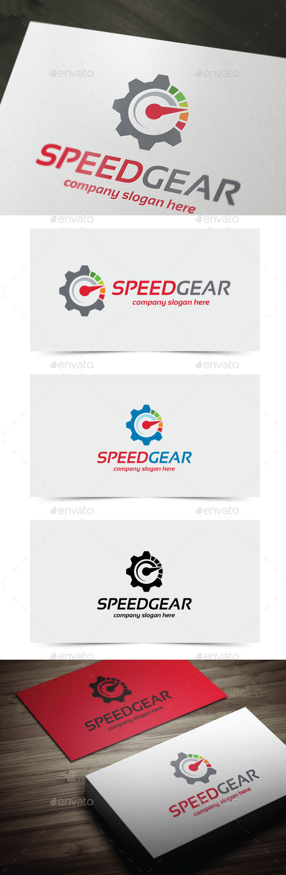 GraphicRiver Speed Gear 11225140