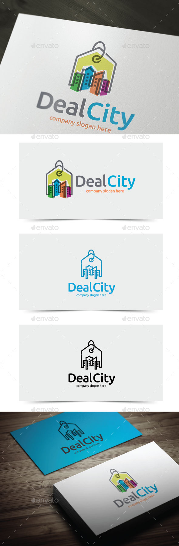 GraphicRiver Deal City 11276479