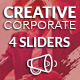 Sliders - Creative Corporate - GraphicRiver Item for Sale