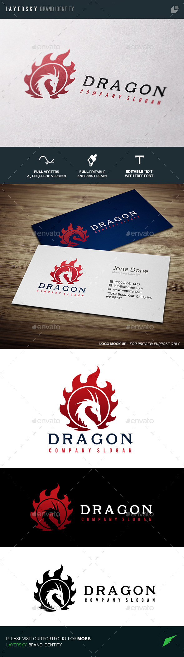 GraphicRiver Dragon 11276579
