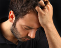 Man suffering a strong headache - PhotoDune Item for Sale