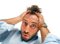 Stressed man tear his hair out - PhotoDune Item for Sale