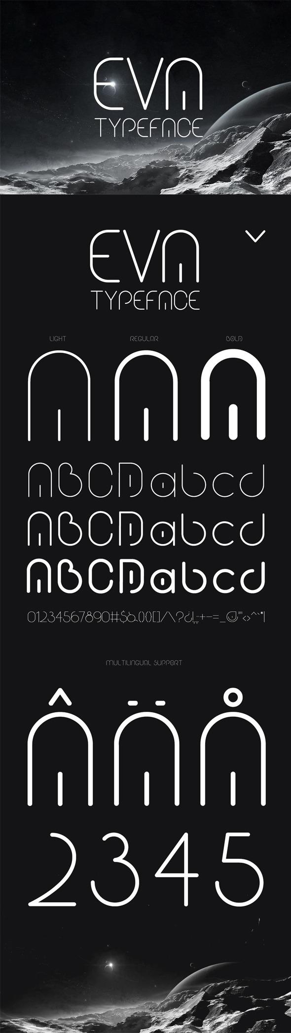 GraphicRiver Eva Typeface 11276962