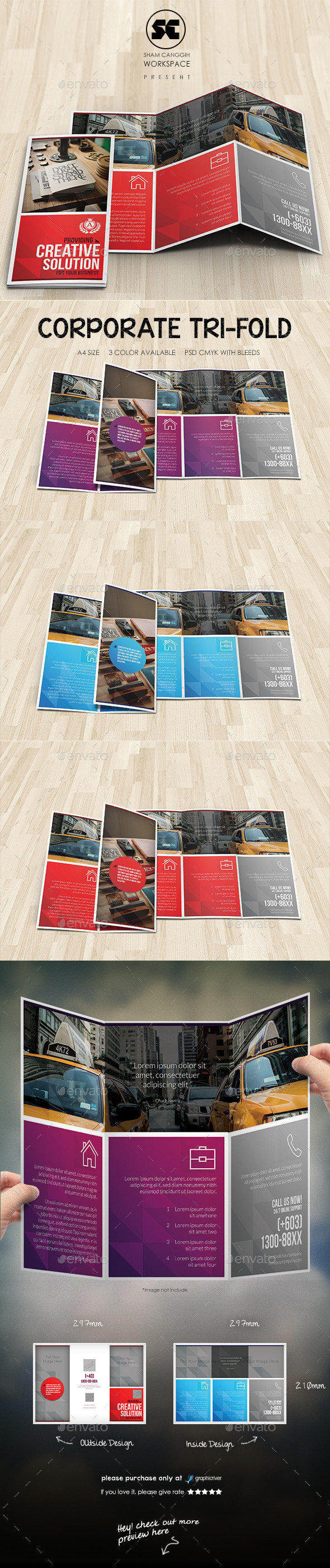 GraphicRiver Modern Corporate Tri-Fold 11277000