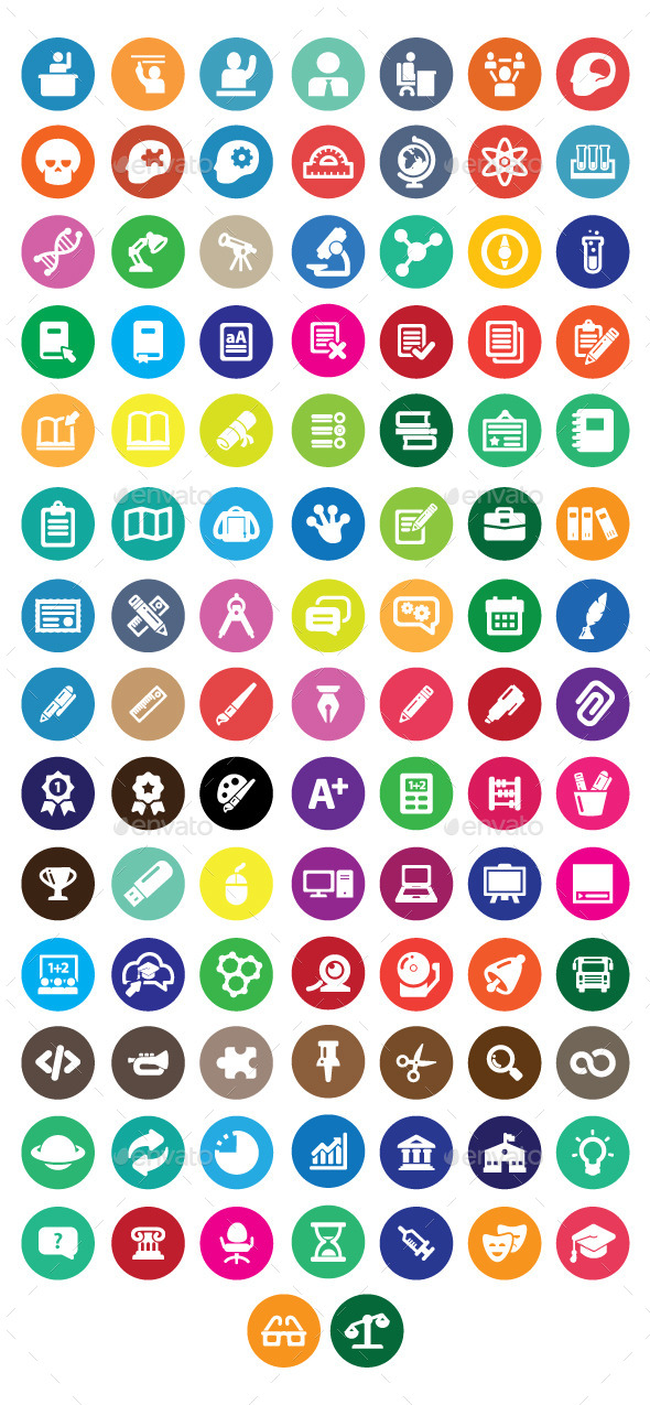 GraphicRiver Educational Icon 11277308