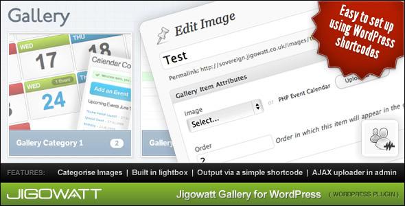 Jigowatt Gallery for WordPress - CodeCanyon