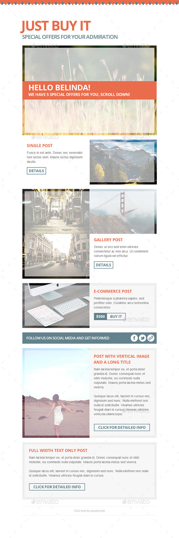 GraphicRiver Just Buy It E-Commerce & Offer Mail Template 11277625