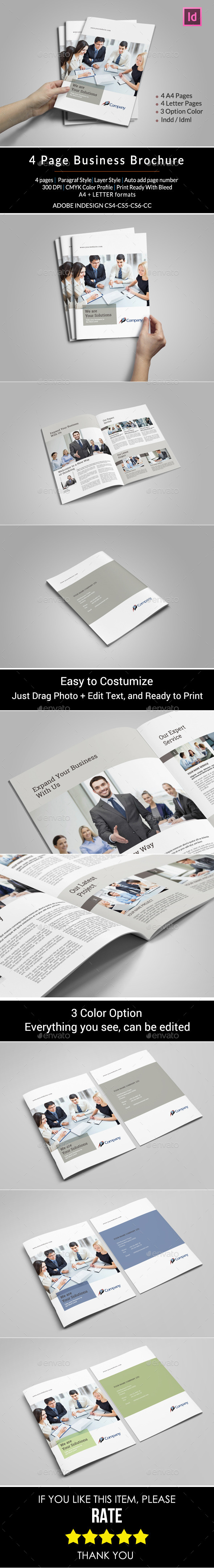 GraphicRiver Business Brochure 11277843
