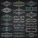 Chalk Drawing Dividers or Frames - GraphicRiver Item for Sale