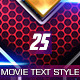 25 Movie Text Style Bundle